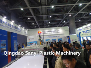 Plastic PVC Foamed Board Extrusion Line pictures & photos