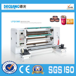 High Speed Plastic Film Paper Slitting Machine pictures & photos
