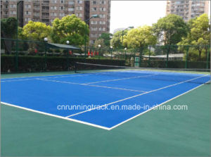 Spu Tennis Sports Flooring System Qualified by Itf pictures & photos
