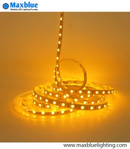 5050 Yellow Amber LED Strip Light 60LEDs/M pictures & photos