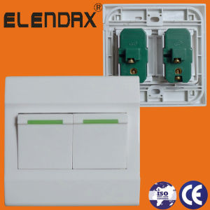 10A X2 Gang 1 Way Switch (F1202) pictures & photos