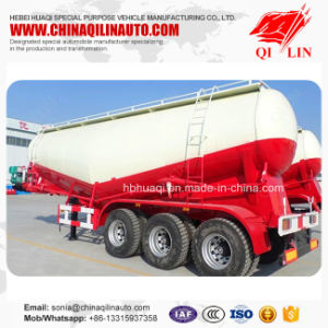 60 Tons Dry Powder Tank Semi Trailer with Electric Engine pictures & photos