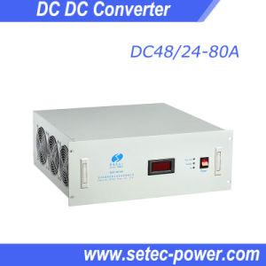 48V DC to 24V DC Power Converter for Telecom (SETDC48/24-80A)