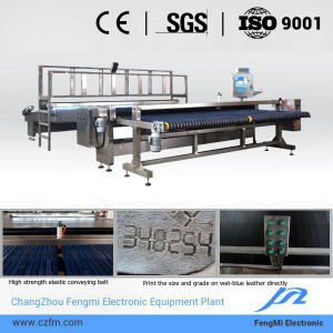Automatic Wet-Blue Leather Checking and Measuring Machine