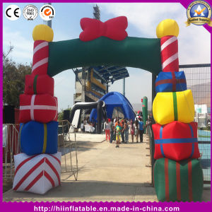 Hot Inflatable Gift Box Arch for Christmas Decoration pictures & photos