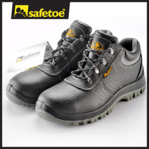 Leather Safety Shoes (L-7147) pictures & photos