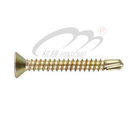Flat Head Self Dilling Screw (DIN7504P)