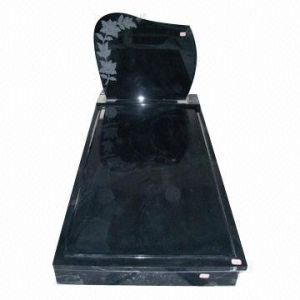 Shanxi Black Granite Gravestone Headstone Monument Tombstone pictures & photos