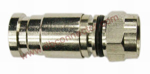 CATV F O Ring Waterproof Compression Connector (OPT-CPS-4)