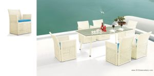 Outdoor Furniture With Table and Chairs (7054) pictures & photos