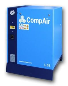 L02, Compair Screw Compressor, Lubricated Type Compressor, Rotary Screw Compressor, Stationary Compressor