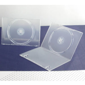 7mm DVD Case, Single, Semi-Clear, Glossy Finish