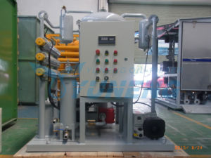 Mobile Vacuum CT Oil Dehydrator Machine Oil Dehydration Plant pictures & photos