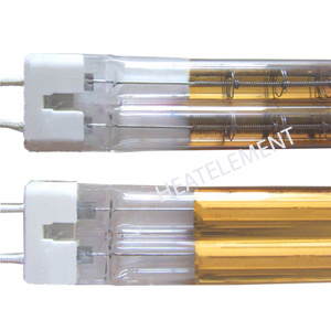 Gold Refelctor Twin Tube IR Lamp pictures & photos