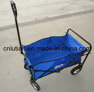 Sports Folding Utility Wagon in Blue