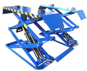 Thin Platform Scissor Car Lift With CE and ISO9001 (DSLS607U)
