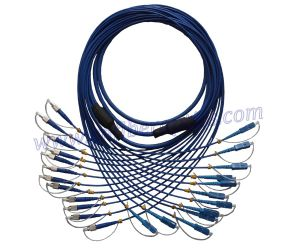 Armored Fiber Patch Cord (FC/UPC-SC/UPC)