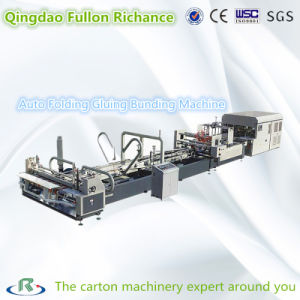 Automatic Complete Folding Gluing and Bunding Machine pictures & photos