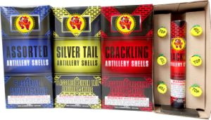 Assorted Artillery Shells Fireworks a B C Three Effect pictures & photos