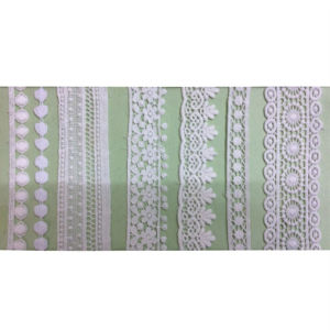 100% Cotton Polyester Embroidery Garment Polyester Trimming Lace (1760) pictures & photos