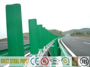 Galvanized PE Powder Coating Steel Guardrail pictures & photos