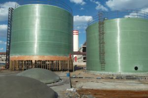 Large FRP and GRP Tank for Chemical Liquid and Water150kl-5000kl