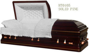 Wood Casket of American Style (HT-0105)