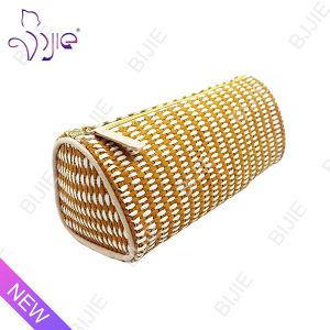 Straw Mat Female Large Capacity Storage Cosmetic Bag