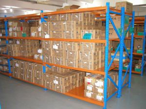 Mezzanine Industrial Storage Medium Duty Shelf Rack pictures & photos