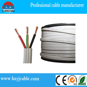 Industrial Electrical Wiring PVC Insulated Flat Cable and Earth pictures & photos
