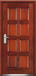 Steel Wooden Door (LT-206) pictures & photos