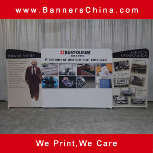 10FT Straight Tension Fabric Trade Show Displays pictures & photos