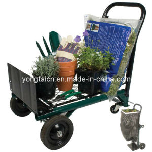 Folding Garden Hand Trolley (HT1103) pictures & photos
