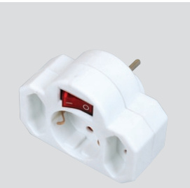 Switched Power Socket (Sweden, Finland, Norway, Denmark type) pictures & photos