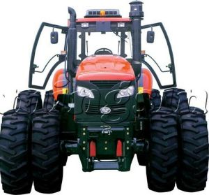 280HP 4WD Farm Wheel Tractor (KT-2804) pictures & photos