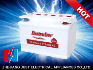 DIN Dry Charged Battery Automobile Battery Storage Truck Battery DIN66 pictures & photos