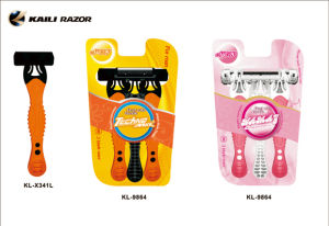 High Quality 5 Blades Razor Women Shaver with Factory Price pictures & photos