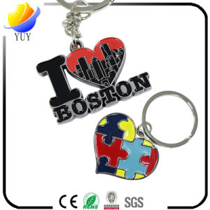 Best Sell of The Colorful and Special Shape Metal Key Chain pictures & photos