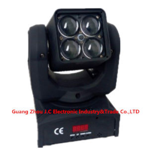 4 * 10W RGBW 4in1 LED Moving Head Zoom Light pictures & photos