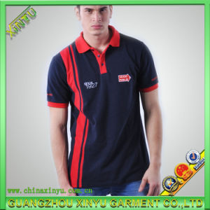 Fashion Custom 100%Cotton Embroidery Mens Polo Shirt pictures & photos