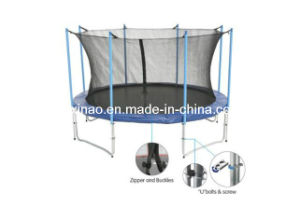 12ft Big Round Trampoline with Safety Net (XA1058)