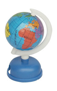 Dia 4.2cm Paper Globe with Sharpener (J303)
