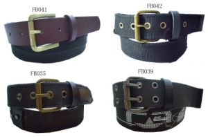 Webbing Belts with Punk Rock Style