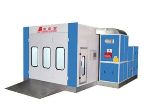 Spraying Booth with Infrared Lights and Diesel Burners pictures & photos