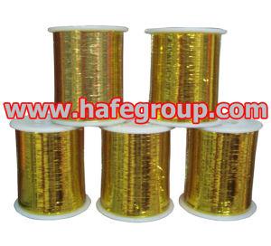 Gold Metallic Yarn (M-Type) pictures & photos
