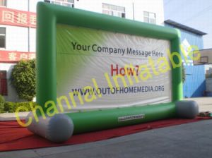 Inflatable Film Screen for Advertising (Ai-001) pictures & photos