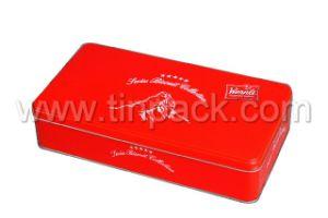Rectangle Tin Can, Tin Box, Tin Packaging, Decorative Box, Perfume Tin Box