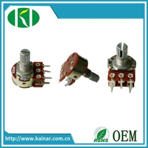 Wh148-1ak-2 5 Pin Precision Rotary Potentiometer with Switch pictures & photos