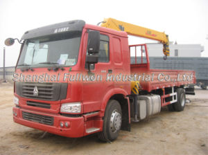 HOWO 4X2 3.2 Ton Truck Crane pictures & photos