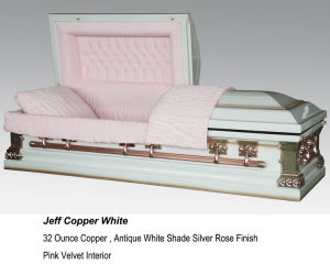 Purity 32oz Solid Copper Casket